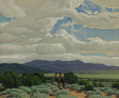 Ernest Hennings, 'Across the Valley'