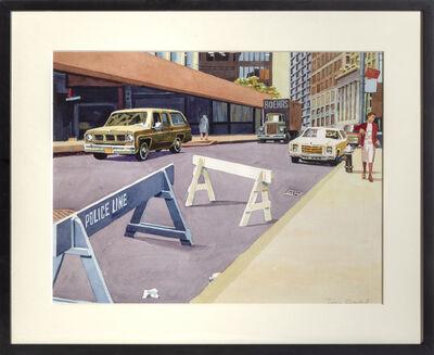 Don david, 'Police Line', ca. 1980