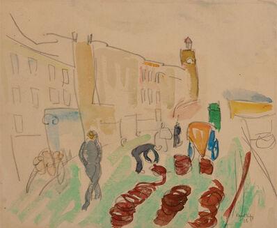 Raoul Dufy, 'Promenade sur les Quais', 1908