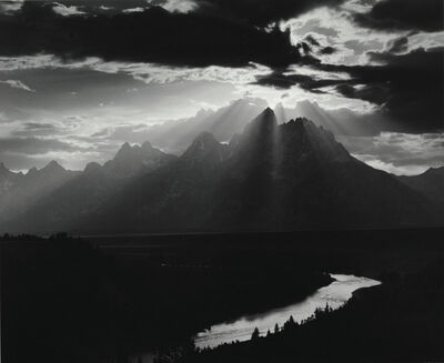 Minor White, 'Grand Teton National Park, Wyoming', 1959