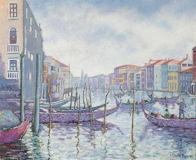 Hugues Claude Pissarro, 'Matin Gris au Quai des Gondoles', 21st Century