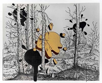 Steve Viezens, 'Landscape with spots III', 2018