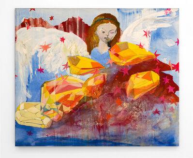Diana Aisenberg, 'Angel de la guarda sobre tormenta de cristales', 2009