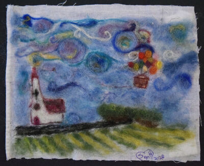 Shelia Horne, 'Van Gogh Up!', 2020