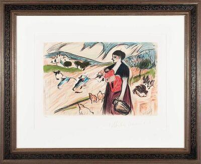 Pablo Picasso, 'Paysanne et son enfant', 1898; 1979-82