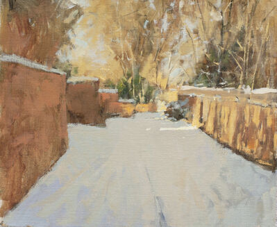 Irby Graves Brown, 'Winter Light in Santa Fe'