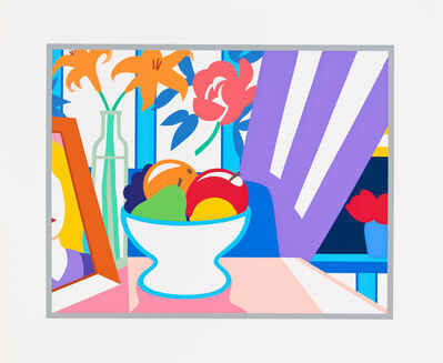 Tom Wesselmann, 'Still Life with Lilies and Mixed Fruit', 1997