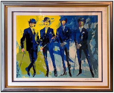 LeRoy Neiman, 'LeRoy Neiman THE BEATLES Large Signed Serigraph Artwork Lennon McCartney Framed', 1990-1999