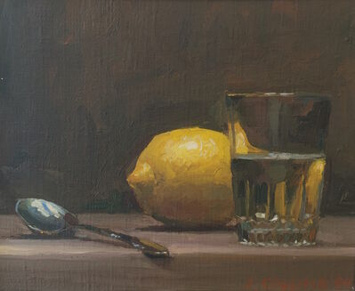 Jacob Collins, 'Lemon with Glass', 1994