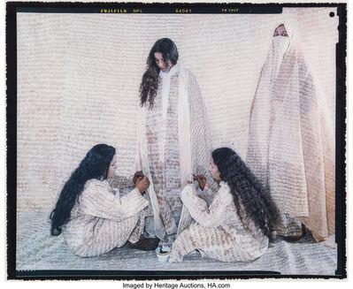 Lalla Essaydi, 'Converging Territories #13', 2003