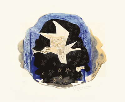 Georges Braque, 'Les Étoiles (Stars)', 1959