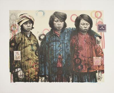 Hung Liu, 'Sisters in Arms I', 2003