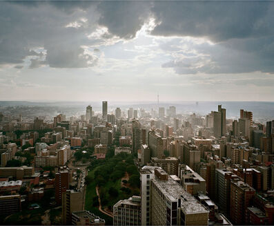 Mikhael Subotzky, 'Looking West, Ponte City, Johannesburg', 2008