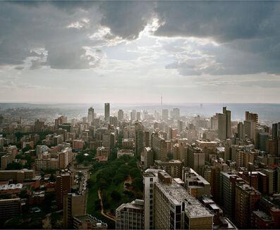 Mikhael Subotzky, 'Looking West, Ponte City, Johannesburg', 2008