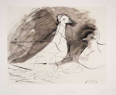 Pablo Picasso, 'Pigeons, 1943', 1979-1982