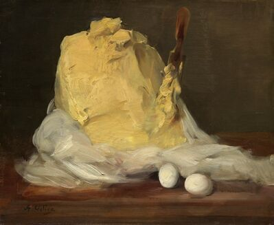 Antoine Vollon, 'Mound of Butter', 1875