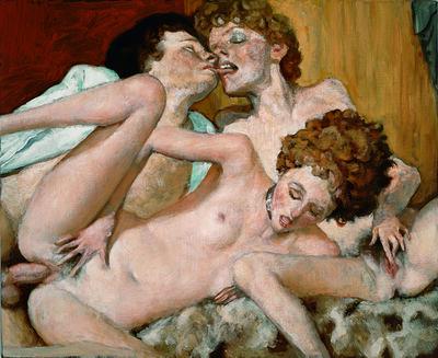 John Currin, 'The Danes', 2006