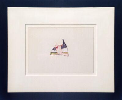 Tom Wesselmann, 'Dropout Seascape Sketch', 1974
