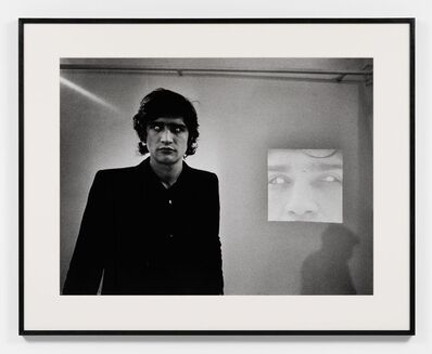 Claudio Abate, 'Giuseppe Penone - Rovesciare i propri occhi', 1970