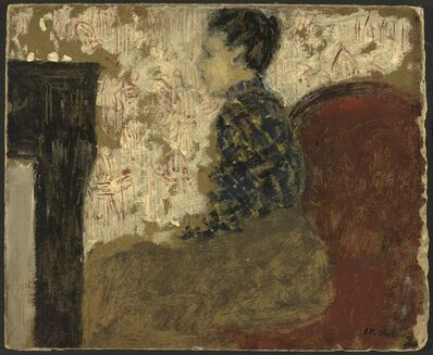 Édouard Vuillard, 'Woman Sitting by the Fireside', ca. 1894