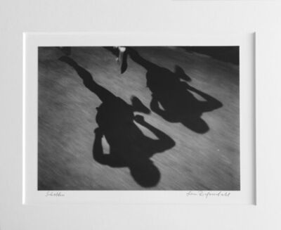 Leni Riefenstahl, 'Ihre Schatten (Their Shadows)', 1936