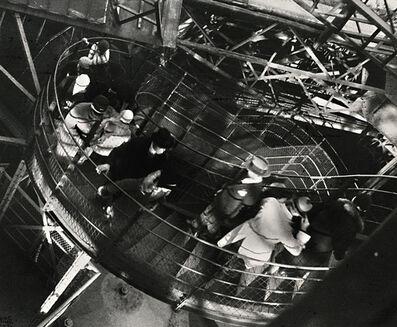 Ilse Bing, 'Le coup de vent, Tour Eiffel', 1931/1950c