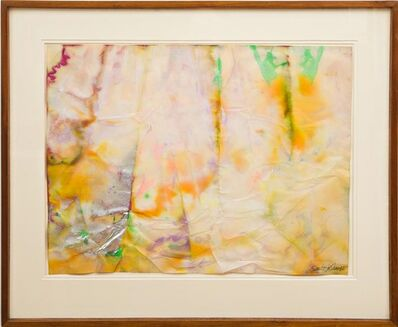 Sam Gilliam, 'Untitled Painting, Ex- Museum of Modern Art Collection, with MOMA Label (also exhibited at the American Embassy, Moscow)', 1968