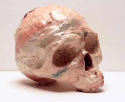 Meghan Smythe, 'Skull (pink & green)', 2014