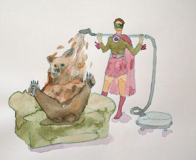 Melanie Daniel, 'Bear and SuperHero', 2016