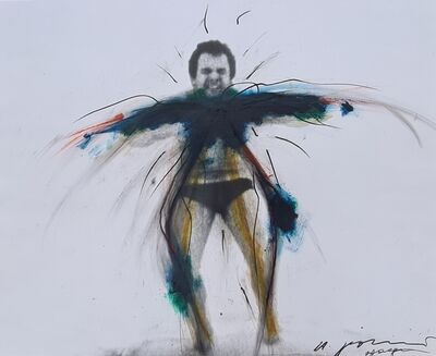 Arnulf Rainer, 'Wage', 1972