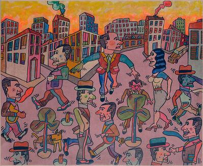 Antonio Seguí, 'Afrontando el día', 2008