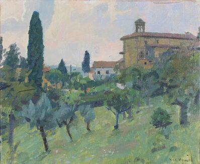 Ken Howard, 'The garden, Montegufoni'