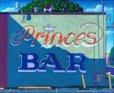 Ray-Mel Cornelius, 'Princes Bar', 2016