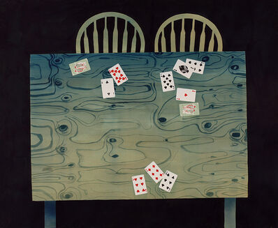 Casey Roberts, 'Card Table (brothers and sisters)'