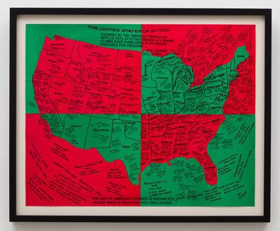 Faith Ringgold, 'United States of Attic', 1972