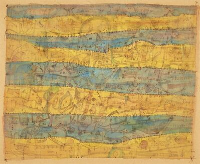 Jan Schoonhoven, 'Geel en Blauw', 1950