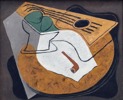 Juan Gris, 'Guitare et Compotier', 1927
