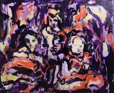 Katya Granova, 'Kids after a walk 2', 2020