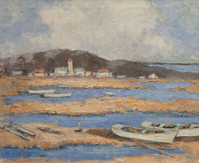 Walter Farndon, 'Dories at Low Tide', 19th -20th Century