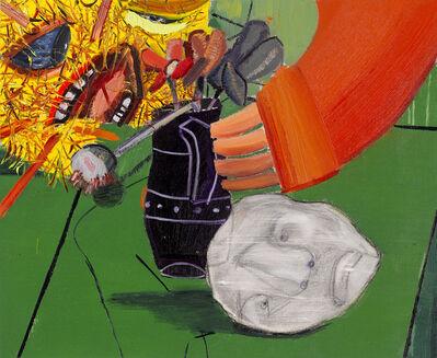 Tincuta Marin, 'Still Life No.Xl with Ceramic White Head', 2020
