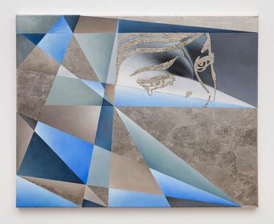 Anna Ostoya, 'Unwept Abstraction (Blue)', 2016