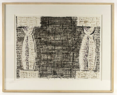 Michael Hurson, 'Two Columns (monotype)', 1983
