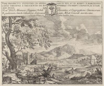 Crescenzio Onofri, 'The Flutist', 1696
