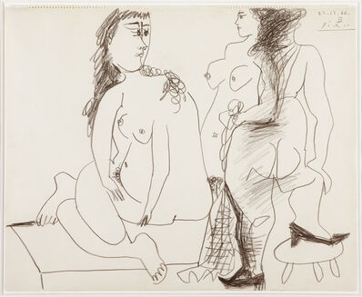 Pablo Picasso, 'Deux Femmes nues  '