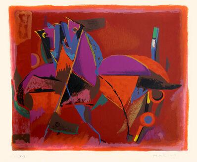 Marino Marini, 'Horses', 1970