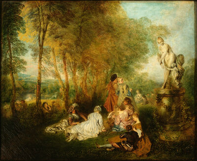Jean-Antoine Watteau, 'The Festival of Love', about 1718/19