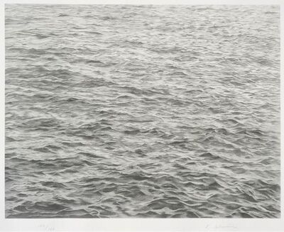 "Vija Celmins, 'Untitled (""Ocean With Cross #1)', 2005"