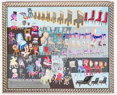 Pedro Friedeberg, 'Extraordinario y maravilloso, extravagante e insólito, singular y asombroso […] compendio y reunión de algunas pocas sillas, sillones, asientos y monturas cómodas ', 2016