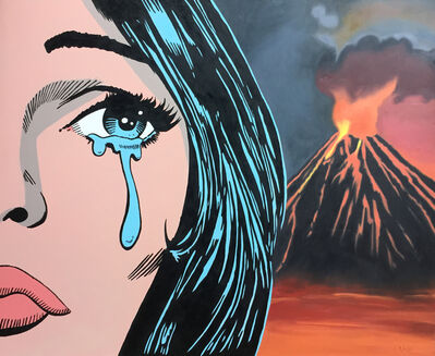 Clifford Land, 'Volcano Tears', 2018