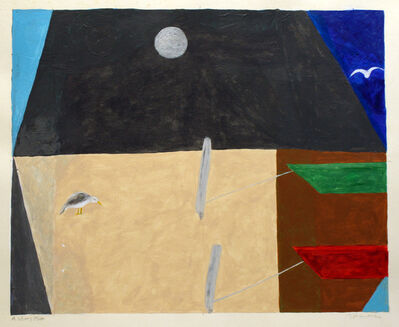 George Vranesh, 'A Silvery Moon', 1990-2001